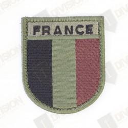 Ecusson France réglementaire (basse visibilité)