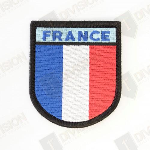 Ecusson France réglementaire (bord noir)