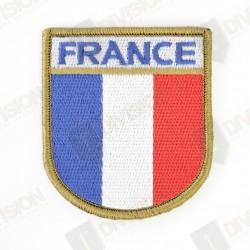 Ecusson France réglementaire (bord vert)