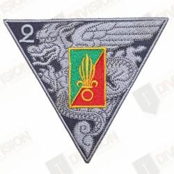 Ecusson Légion Etrangère 2éme REP