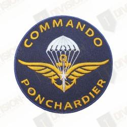 Ecusson Commando Ponchardier
