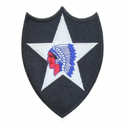 Patch US 2nd Infantry Division