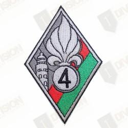 Ecusson Légion Etrangère 4ème Régiment