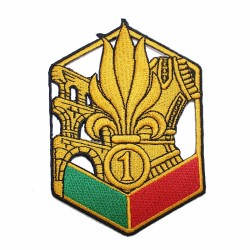 Ecusson Légion Etrangère 1er régiment étranger de génie