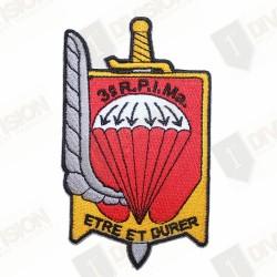 Ecusson 3ème Régiment Parachutiste d'Infanterie de Marine (3ème RPIMa)
