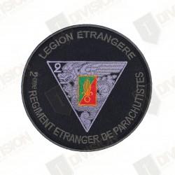 Ecusson Légion Etrangère 2éme REP (bord kaki)