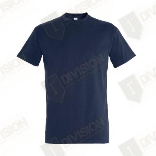 T-shirt bleu Marine Nationale (100% coton)