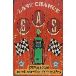 "Plaque vintage "" Lady Luck """