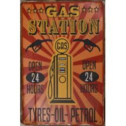 """Plaque vintage """" Route 66 2 """""""