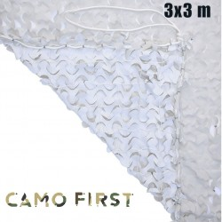 Filet de camouflage CamoFirst renforcé (snow)
