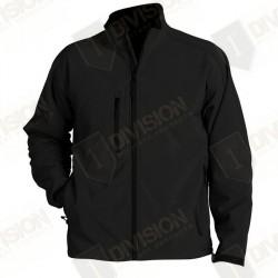 Veste softshell Black + pack personnalisation