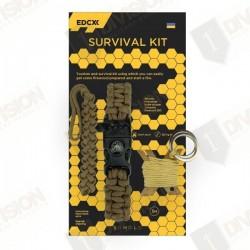 Kit de survie EDCX (coyote)