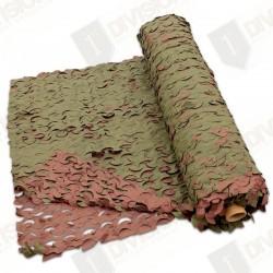Filet de camouflage CamoSystems en rouleau de 78 m (woodland)