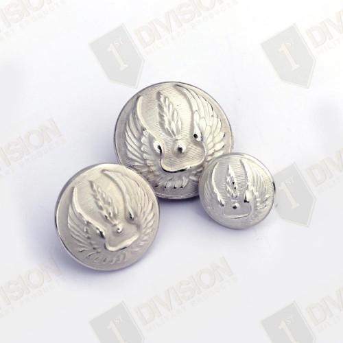 Plaquette de 20 boutons bombé Armée française